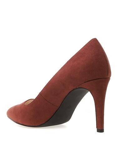 Vero Moda Vero Moda Vmmelissa Pump Bordo Topuklu Ayakkabı Kahve
